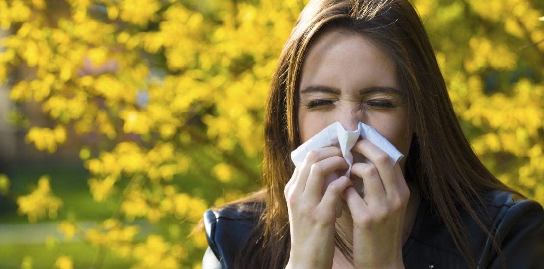 Não deixe que as alergias estraguem a sua Primavera!